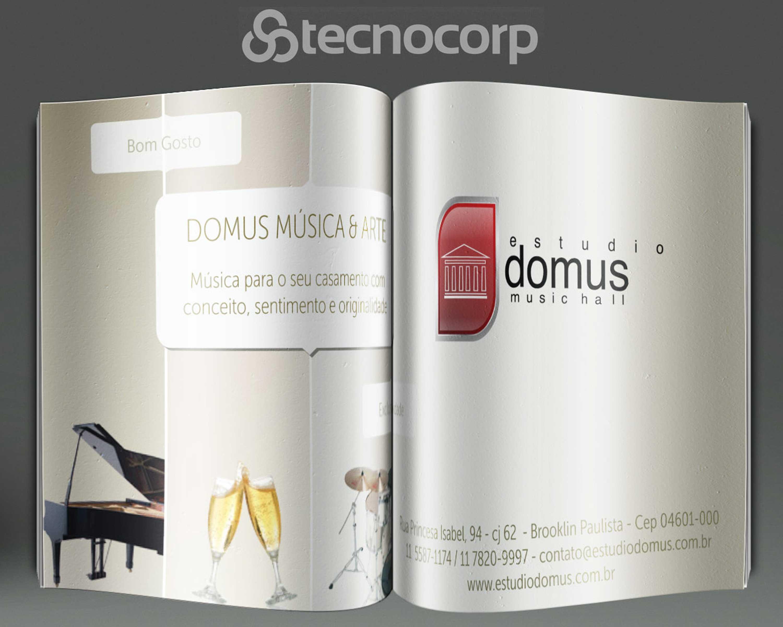 Mídia Impressa Anuncio Revista Estúdio Domus