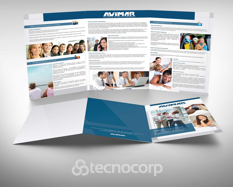 Mídia Impressa Folder Avimar